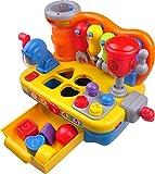 Think Gizmos Aktivitätsspielzeug für Kleinkinder - Interaktives Lernspielzeug für Junge Kinder... (Werkbank mit Musik)