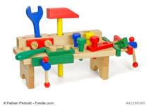 Holzspielzeug - Kinder Werkbank